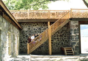 Cove Fort, interior view. Photo by Kenneth Mays.