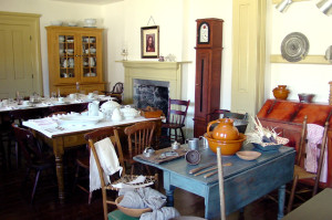 Cove Fort, restore interior room. Photo by Kenneth Mays.