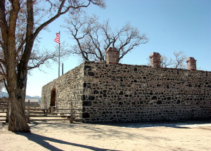 Cove Fort. Photo by Kenneth Mays.