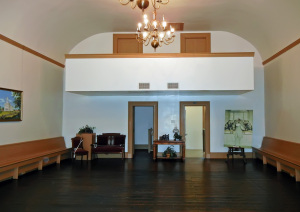 Cultural Hall, interior view, third floor. Photo by Kenneth Mays