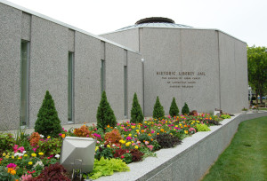 Liberty Jail Visitors' Center. Photo by Kenneth Mays.