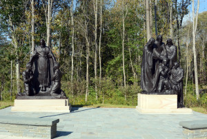 Statuary at the Priesthood Restoration Site. Photo by Kenneth Mays.