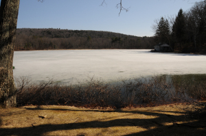 Pickerel Pond on what was once the Joseph Knight Sr. farm, Colesville, NY. Photo by Kenneth Mays