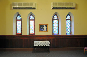 Thomas L. Kane Memorial Chapel. Photo by Kenneth Mays.