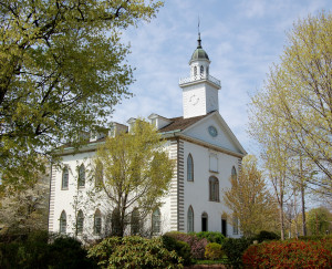 Kirtland Temple. Photo (2006) by Kenneth Mays.