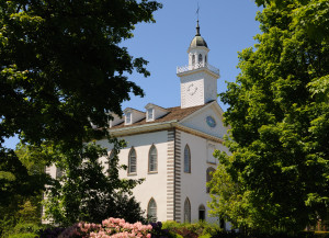 Kirtland Temple. Photo (2008) by Kenneth Mays.