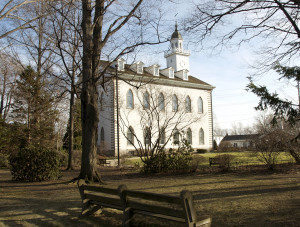 Kirtland Temple. Photo (2009) by Kenneth Mays.