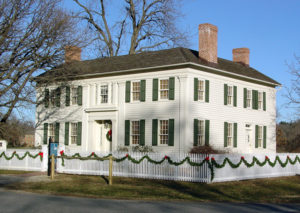 The Mansion House as seen during the Christmas season. Photo by Kenneth Mays.