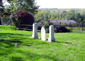 Cemetery at Winter Quarters. Photo by Kenneth Mays.