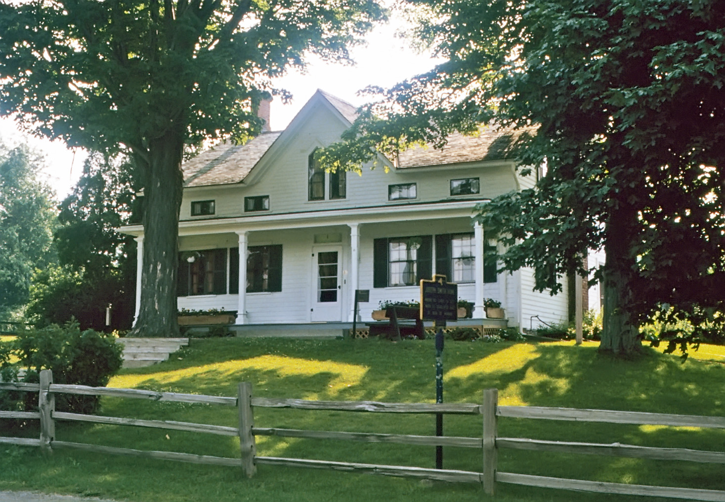Joseph Smith, Sr. Frame Home