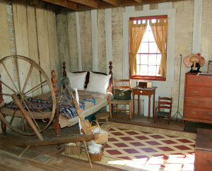 Smith frame home interior. Photo by Kenneth Mays.
