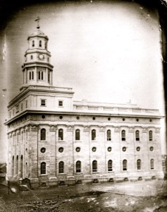 Original Nauvoo Temple.