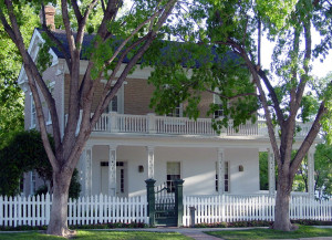 Brigham Young winter home, St. George, UT. Photo by Kenneth Mays.