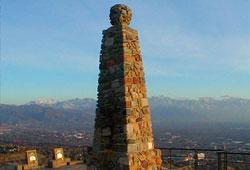 The Ensign Peak Monument Photo courtesy of Alexander L. Baugh