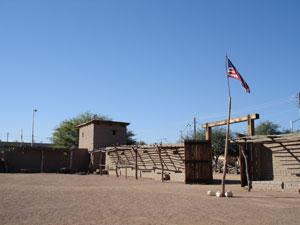 The Old Mormon Fort in Las Vegas, Nevada Photo courtesy Derek J. Tangren