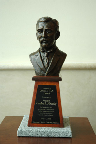 The Junius F. Wells Award.