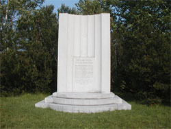 The Brigham Young Monument in Whitingham, Vermont Photo Courtesy of Alexander L. Baugh