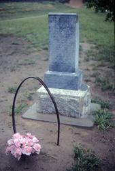 The Rebecca Winters' Gravesite Photo courtesy of Alexander L. Baugh