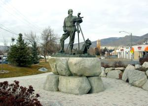 Monument to Parley P. Pratt, SLC, UT. Photo by Kenneth Mays.