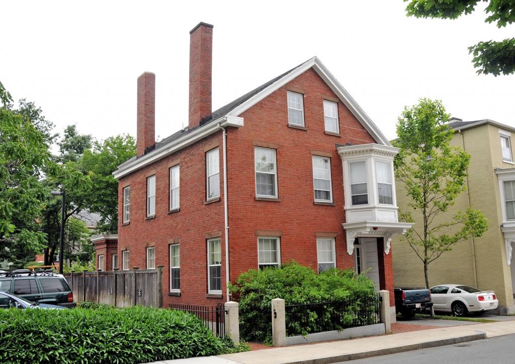 Nathaniel Felt home in Salem, Massachusetts.