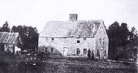 The Smith Homestead Home sometime before 1876 when it was torn down Photo Courtesy Alexander L. Baugh
