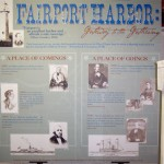The Fairport Harbor exhibit. The exhibit is located at the Lake County Historical Society during the Fall and Winter months and at the Fairport Harbor Museum during the Spring and Summer months.  Photo courtesy Fred E. Woods