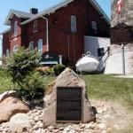 The Fairport Harbor Historical Marker Photo courtesy Alexander L. Baugh