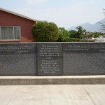 The Icelandic Memorial Wall of Honor to the 410 Icelandic immigrants who made their way to Utah between 1854 and 1914.  Photo courtesy Derek J. Tangren