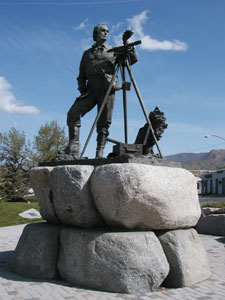 The Parley P. Pratt Monument Photo courtesy Alexander L. Baugh