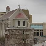 Historic Holy Cross Chapel exterior