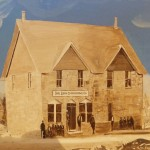 The Bluff Co-op store was built in the late 1880s and was the center of all community activities.