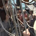 Boarding-ship