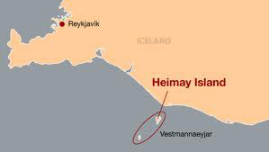 Map of the island of Heimay in Vestmannaeyjar, Iceland, where a museum exhibit tells the story of early Mormon converts from Iceland © 2011 Intellectual Reserve, Inc. All rights reserved