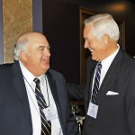 Scott Lorimer with Elder Ear Tingey.