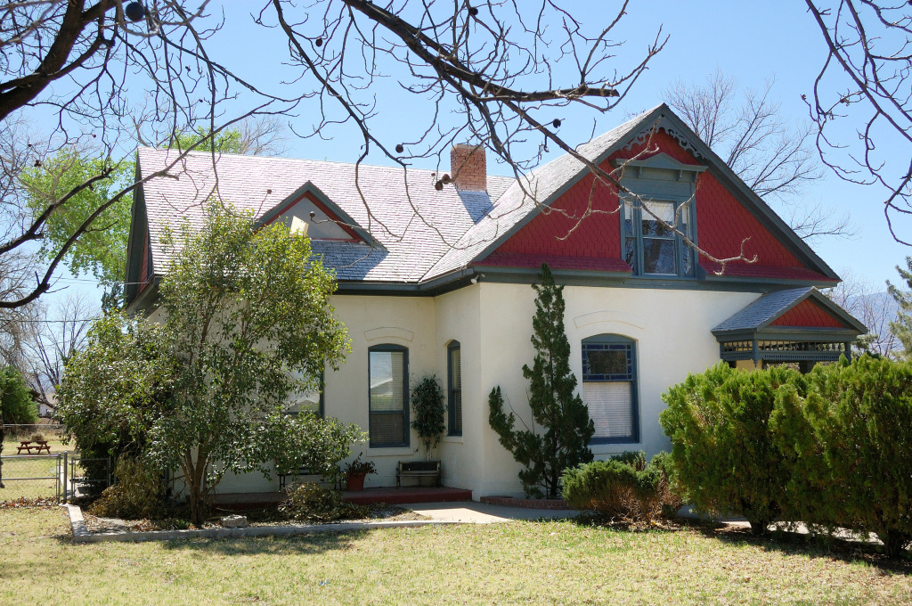 The Spencer W. Kimball childhood home. Photo by Kenneth Mays