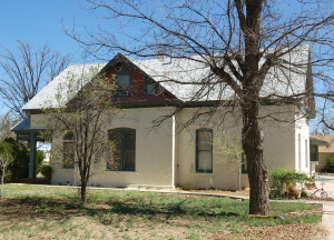Side view of the Kimball childhood home, Thatcher, Arizona. Photo by Kenneth Mays.