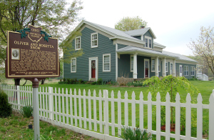 Birth home of Lorenzo Snow; childhood home of Eliza R. Snow, Mantua, OH.
