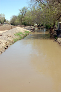 This canal near the Kimball childhood home is the site where Spencer W. Kimball was baptized. Photo by Kenneth Mays