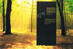 Proposed memorial in Trencin, Slaovakia.