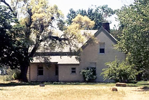 Older view of the Thomas Roueche home in which President John Taylor died. Photo by Kenneth May.
