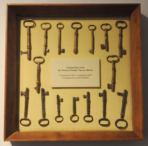 Nauvoo Temple Keys
