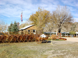 Mormon Handcart Visitors' Center. Photo by Kenneth Mays.