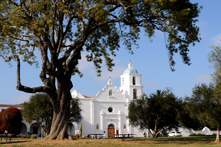 Old Mission San Luis Rey. Photo by Kenneth Mays.