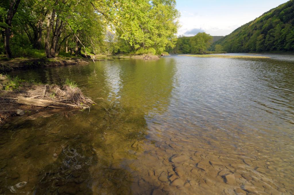 Susquehanna River near the Joseph and Emma Smith Harmony, PA home site. Photo by Kenneth Mays.