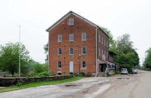 Old mill at Bonaparte, Van Buren County, Iowa. Photo by Kenneth Mays.