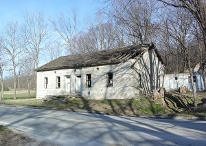 Mason House Inn at Bentonsport, IA. Photo by Kenneth Mays.