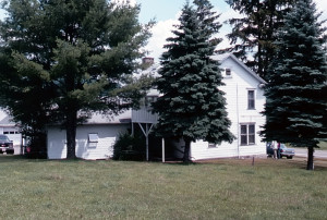 Josiah Stowell home, Afton, NY. Photo (1999) by Kenneth Mays.