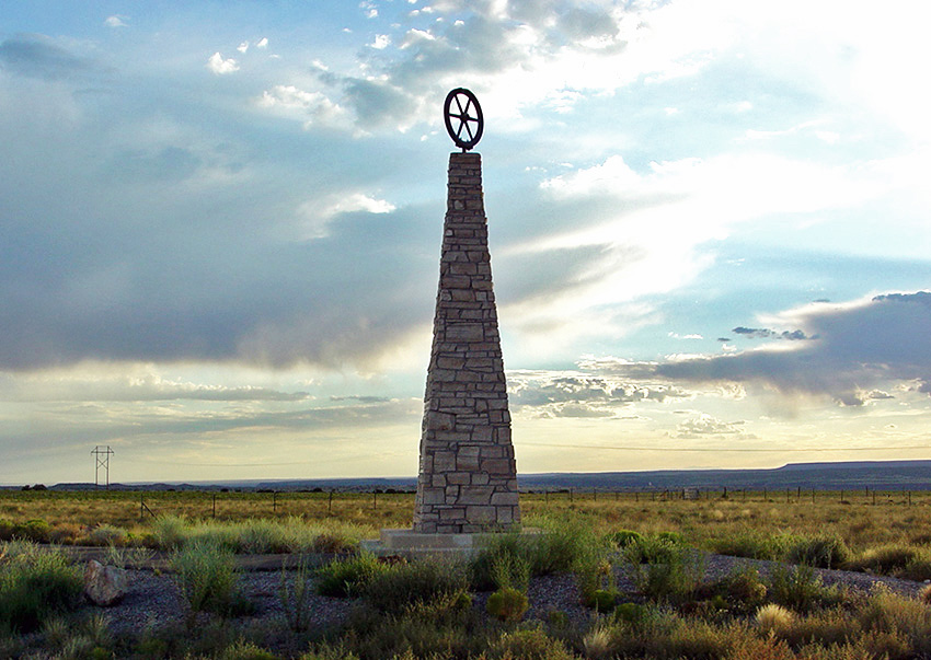 Mormon Battalion Monument, El Presidio Park, near Pima Cou