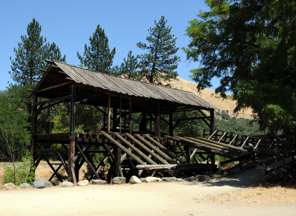 Rebuilt Sutter's Mill, Coloma, California. Photo by Kenneth Mays.