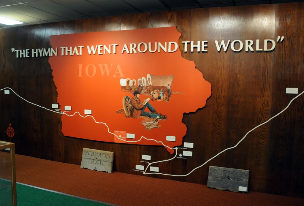 Prairie Trails Museum of Wayne County, Iowa. Photo by Kenneth Mays.